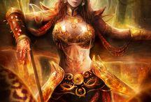 Fantasy / Postavy na fantasy RP hry, či obrázky, co mě nejvíc zaujaly