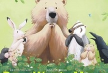 Kid's Books: Spring / Our favorite books about spring for kids from birth to age 5. Includes books, cds and dvds about Easter, flowers, baby animals and more! Click the images to read a full review of each title.