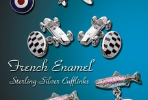 Cufflinks for all seasons and styles in Sterling or 18kt / Do you love cufflinks?  See some of the many designs that we've created and be sure to ask your local jewelry for Nicole Barr cufflinks!