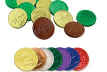 Chocolate Coins / Choco Favors offers finest range of custom designed chocolate coins.