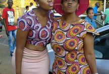 My frends Rocking Tribal print#SouthAfricans Slaying African print