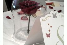 Wedding centre Pieces / Designs for tables and venues