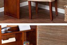 Clever Storage / Drop down desk
