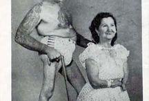 Early circus freaks