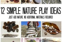 Nature play ideas
