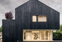 Architecture - Facade materials - timber