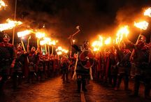 Event :: Up Helly Aa Fire Festival / Lerwick, Scotland – Last Tuesday in January This is Europe's largest fire festival, complete with the burning of a full-scale Viking ship. Need I say more?