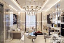 Дизайн  интерьера квартиры в стиле Ар Деко в ЖК Лица / Ядром дизайнерской концепции квартиры в ЖК Лица является стиль Ар Деко. Он задаёт тон интерьеру всех помещений. Настроение квартиры передаётся через небольших детали в виде зеркал, картин, светильников и фактур. За счёт такое продуманного выбора декоративных элементов, квартира передаёт гостю тепло и уют.