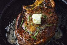 Blue cheese and butter Ribeye