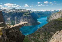 Troll's tongue trek / The new four day trek to Trolltunga, Norway