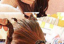 Unha, cabelo e maquiagem