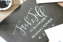 W R I T E / Beautiful hand lettering and calligraphy.