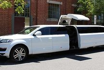 AUDI Q7 with Middle Jet Door Limousine Perth by Wicked Limos