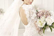 Wedding Dress  Gelinlik / Bride to be- wedding dress- day- special -white- long- fashion -2014-2015-2016 - trend- son moda gelinlikler- gelinler- bride -beyaz- lace- dantelli-saten dugun