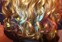 Colorful Hair! / by Rhea Tabler