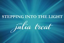 JuliaTreat.com / I'm here to teach you to develop your own intuitive mojo, to hitch a ride with the Divine and connect with your own God given power source.  To create a blueprint for manifesting magnificence and blast thru blocks to creating anything you desire.  You don't need me to do this for you.  You just need a willingness to be open to the process, fearlessly ask for what you want and let the Divine do the rest.