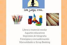 FOTOS DE NUESTRA TIENDA / Educación, libros, material escolar, papelería, juguetes educativos, creatividad, cuentos, entretenimiento infantil.