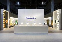 FontanaArte - Light+Building 2014 / FontanaArte Stand at Light+Building Fair 2014 in Frankfurt.