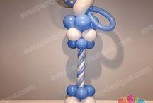 strutture palloncini per nascite e battesimi