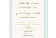 Wedding: Light Blue / by William Arthur Fine Stationery