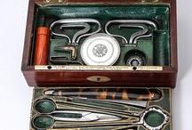 Antique Necessaire, Men's and Women's Travel Vanity, Trousse de Voyage or Toiletries Sets