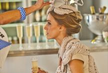 Melbourne Cup / A board filled with Melbourne Cup style and luncheon inspiration, as well as tips from Electrolux's guest fashion experts on how to keep your pieces in top condition on and after the day.