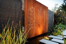 Water feature ideas / Front garden design