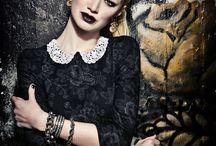"""LENA HOSCHEK A/W 2013-14 """"RUSSIAN ROSE"""""""