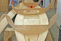 barche in legno
