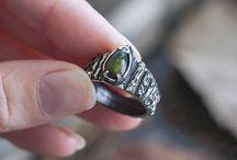 Goth, dark, spooky style jewelry
