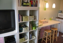 Office/Craft area / by Darci Stoller
