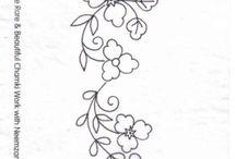 cenefas flores