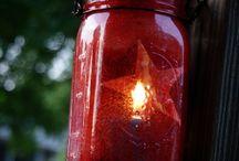 Mason Jars ~ Lights: Electric, etc. / by Linda S