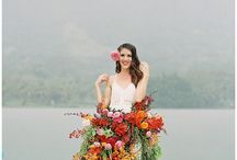Bold & Colorful Bridal Styled Shoot