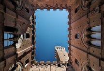 Siena, Toscana, Italia / Immagini di siena e il Palio