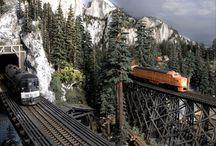 Model Trains / by Jobina Pack