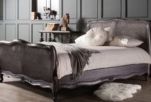 Luxurious and Traditional Bed Frames / Luxury hand furnished beds by Frank Hudson combine the classic and contemporary English Look with the French Renaissance style.