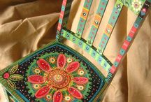 Paintedchairs