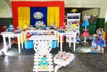decoração de festa Galinha Pintadinha / Galinha Pintadinha