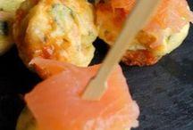 bouchées aperitives saumon carré frais
