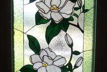 vitráž sklo
