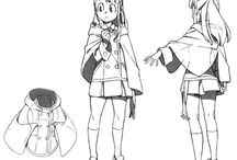 Character Artworks - Stylized / Anime, cartoony... y'know, that kind of stuff.