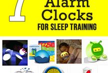 Toddler Alarm Clocks / Sleep training your toddler? Make sure to check out these toddler alarm clocks. These toddler clocks are made just for tots.