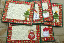 Placemats/Pot Holders/Mug Rugs/Napkins / by Susan