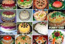 сборники салатов