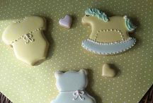 Cookies Bebê - Maternidade - Baby shower / Bebês - Batizado - Maternidade Baby shower