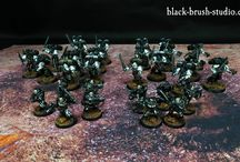 Showcase Raven Guards / Painted models for Shadowstrike kill team formation.