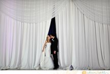 Draping /  Shipley Enterprises specializes in unique event decor and design such as lighting, drapes, dance floors, gobos, chuppahs, chandeliers, and more
