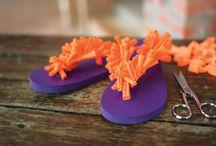 Make MU Slippers