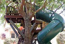 tree house ideas / by Debbie Ferguson